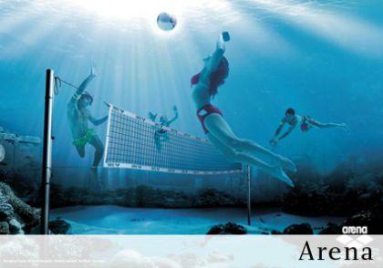 sous l'eau - arena