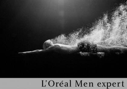 l'oréal men bouton