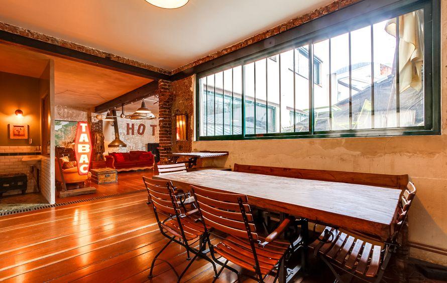 le loft new yorkais paris pour photo cin ma et l 39 v nementiel. Black Bedroom Furniture Sets. Home Design Ideas