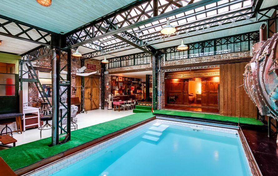 le studio piscine pour la photo le cin ma et l 39 v nementiel. Black Bedroom Furniture Sets. Home Design Ideas